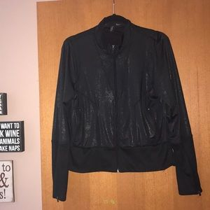 Gently used Cynthia Rowley black zip up